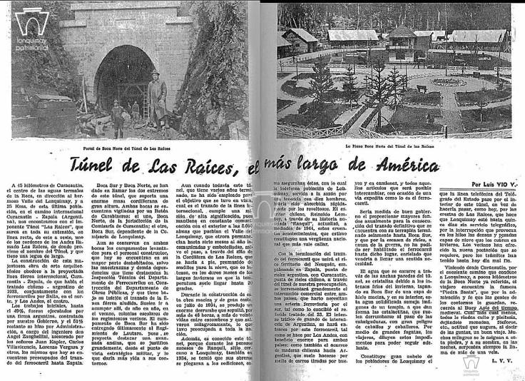 tunel las racies en viaje 1946
