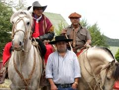 Presencia de gauchos y huasos, encuentro tradicional de la frontera