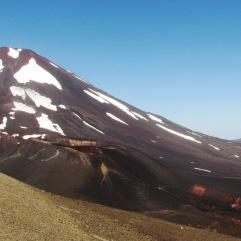 Volcán Lonquimay y cráter Navidad
