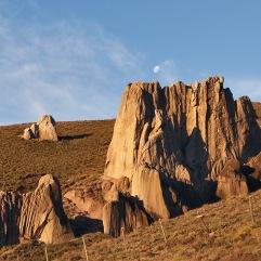 Ignimbrita, en Piedra Blanca, Liucura