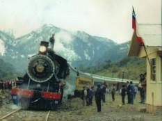 Tren de la Araucanía en Boca Norte