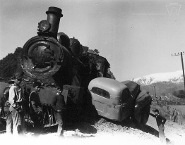 Accidente ferroviario en sector La Puntilla, 1968