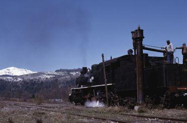 Tren en Malalcahuello